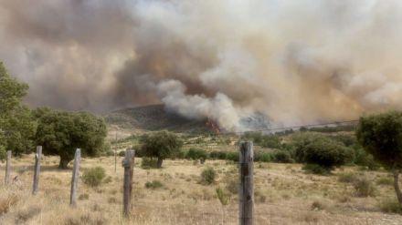 La Diputación comunica los daños en infraestructuras de 12 municipios por el incendio de La Paramera