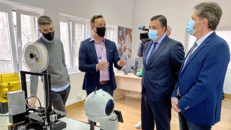 El Laboratorio Tecnológico de la Diputación de Ávila en las Jornadas de Empresas Tecnológicas de Cruz Roja