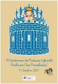 XI Certamen de Pintura Infantil 'Ávila en dos Pinceladas'