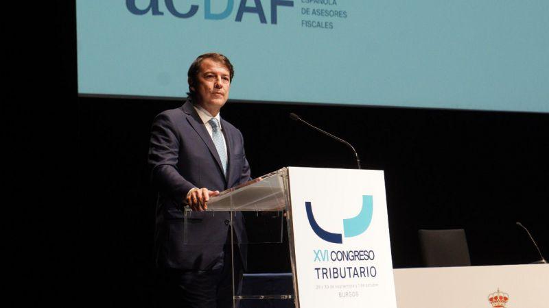 Mañueco anuncia que Castilla y León seguirá bajando impuestos