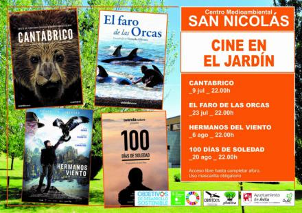 El ciclo 'Cine en el jardín' continúa con 'El faro de las orcas'