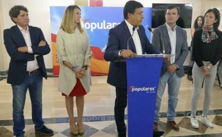 El PP pierde un escaño a favor de Cs y el PSOE lo mantiene