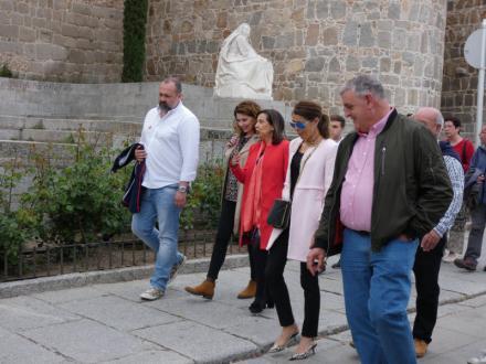 Margarita Robles llama a votar al PSOE en la ciudad que le dio su confianza