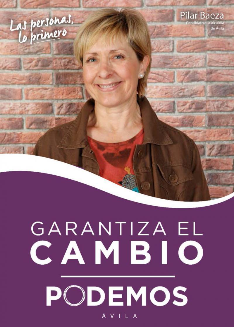 La candidata de Podemos en Ávila pensó en el suicidio y lamenta el