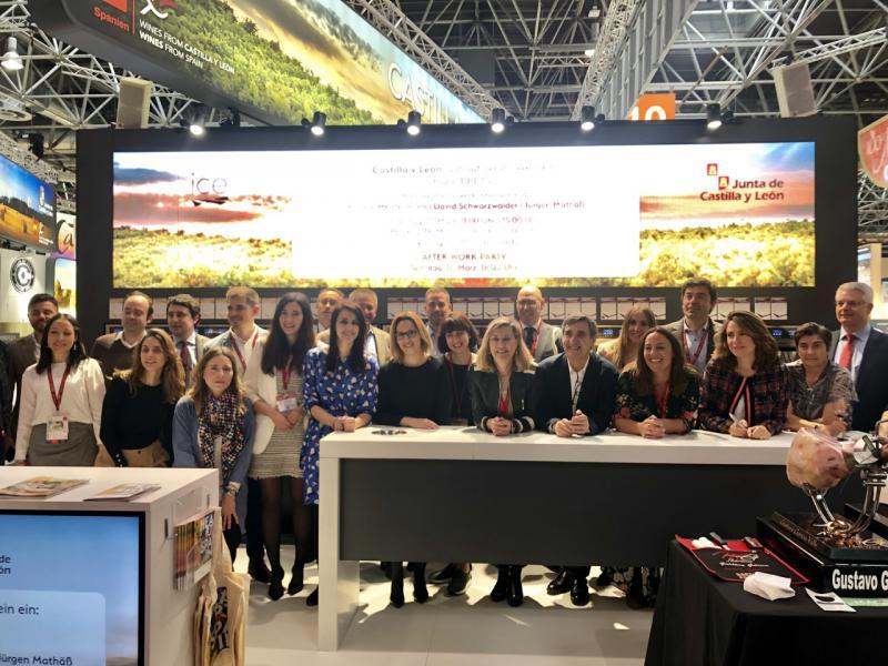 Castilla y León exhibe el potencial de sus vinos en la feria internacional Prowein