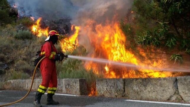 El incendio de Gavilanes-Pedro Bernardo ha quemado 1.400 hectáreas en el sur de Ávila