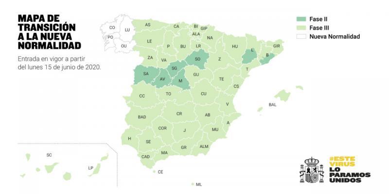Ávila permanecerá en la 'Fase 2' el próximo lunes