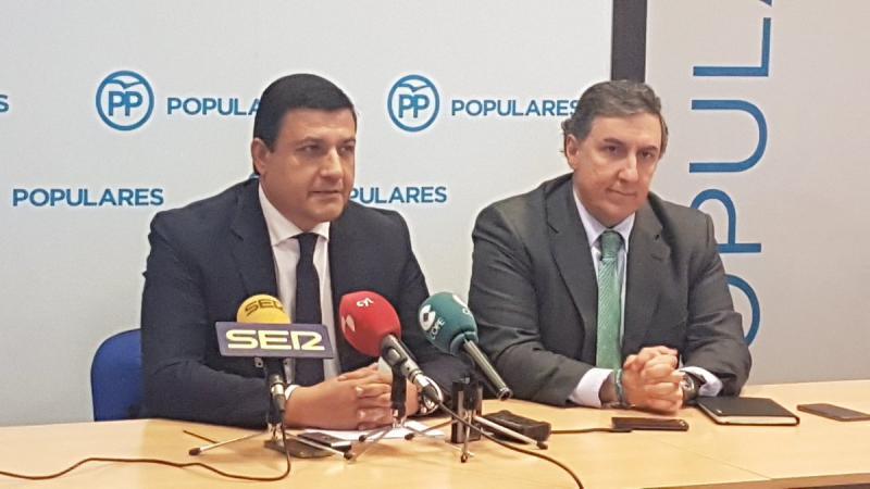 Carlos García quiere que Sánchez Cabrera siga trabajando dentro del PP