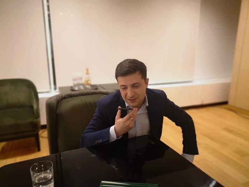 En Ucrania, un amigo que llegó a… presidente