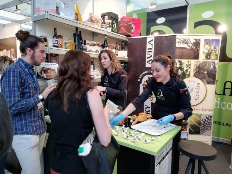 Ávila Auténtica muestra la calidad de los productos de la provincia en Madrid Fusión con cerca de 5.000 degustaciones